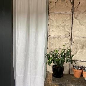 tissu lin lave blanc grande largeur Lin et L'autre Normandie