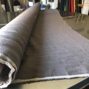tissu lin lavé écorce grande largeur Lin et L'autre Normandie