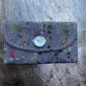 tissu lin lavé artiste gris en coupon