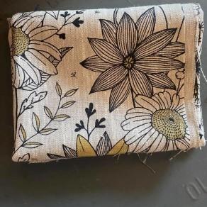 tissu--lin-imprime-fleurs