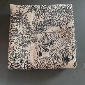 tissu lin imprimé